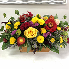 Great selection of flowers for Thanksgiving from Kelowna florist Floral Designs by Lee