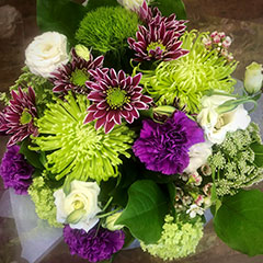 Popular hand-tied bouquets for any occasion - contact Floral Designs by Lee for all your Kelowna flower needs