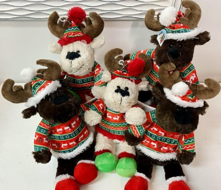 Add a Reindeer Stuffy